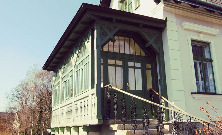 Veranda Holz holz veranda projekte der zimmerei pölsterl